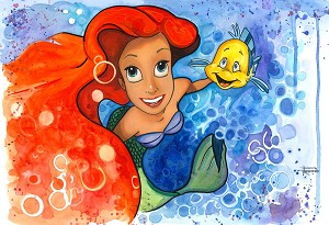 """Ariel and Flounder"""